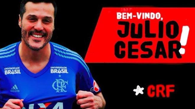 Julio Cesar, ülkesine döndü!