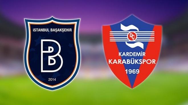 Başakşehir - Karabükspor (Canlı Skor)