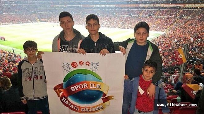 """""""Spor ile Hayata Gülümse"""" Projesi İstanbul'da"""