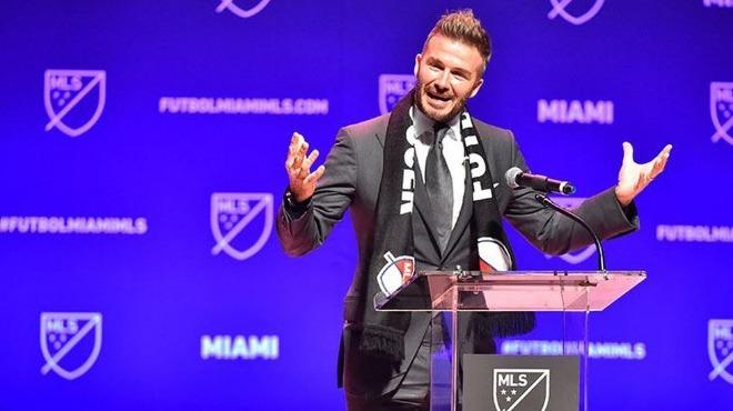 """David Beckham'ın şirketinin başvurusu """" marka özgünlüğüne"""" takıldı"""