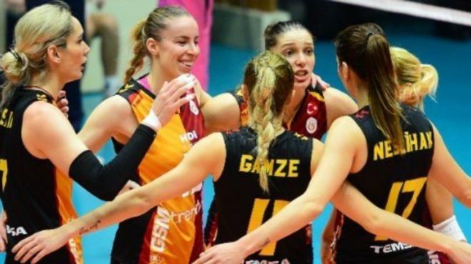 Galatasaray çekişmeli maçta Seramiksan'ı yendi