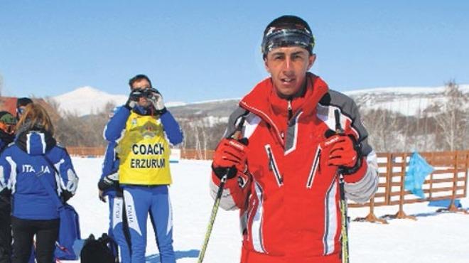 Engelli kayakçının hedefi dünya şampiyonluğu