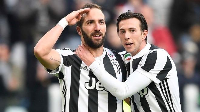 Juventus, Sassuolo'yu 7 bitirdi! Higuain'den hat-trick...