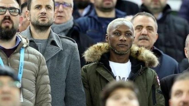 Trabzonspor'un eski yıldızı Göztepe maçını izledi