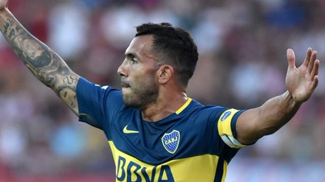 Video - Tevez yeni takımında ilk golünü attı