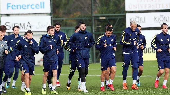 Fenerbahçe Giresunspor maçı hazırlıklarını tamamladı