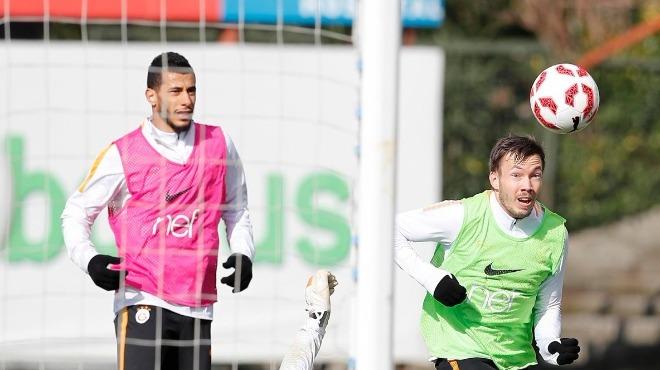 Galatasaray'da kupa maçı hazırlıkları başladı