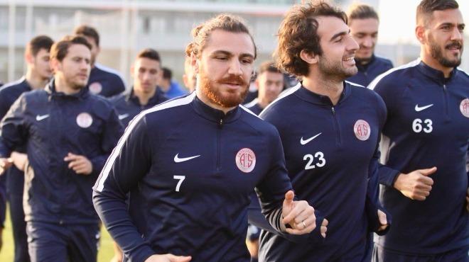 Antalyaspor'da Galatasaray maçı hazırlıkları başladı