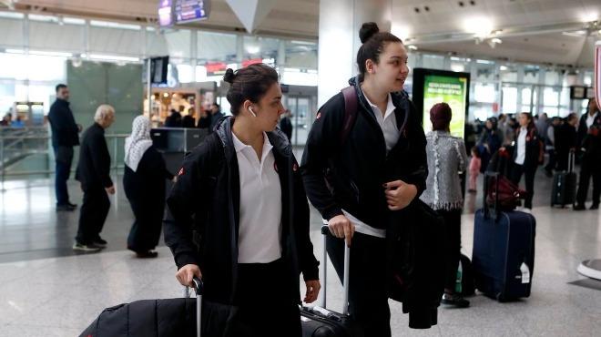 Kadın milli basketbolcular, Belarus'a gitti