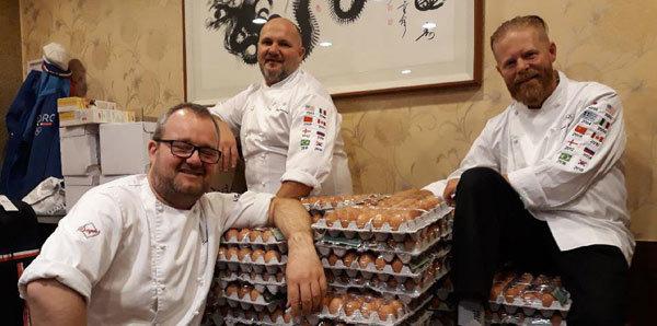 Kış Olimpiyatlarında Norveç takımının yaptığı inanılmaz hata! 15000 yumurta...