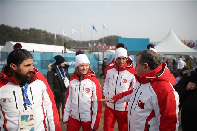"""""""Sporun birleştirici gücü Kış Olimpiyatları'nda ortaya çıktı"""""""