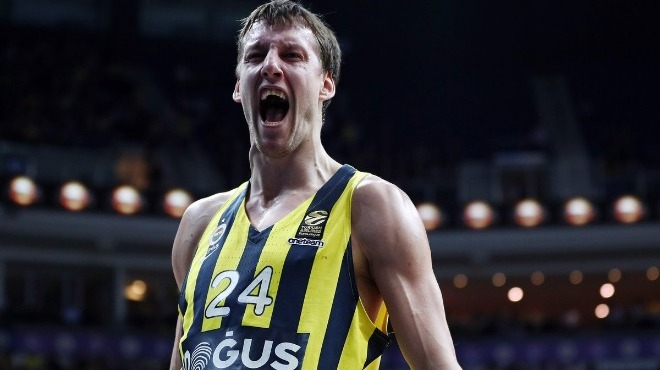 Euroleague'de haftanın MVP'si Jan Vesely!