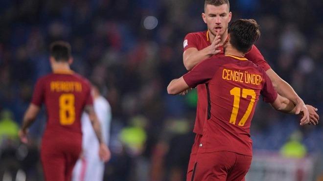Cengiz Ünder coştu! İşte Serie A tarihinde bir maçta iki gol atan Türk oyuncular
