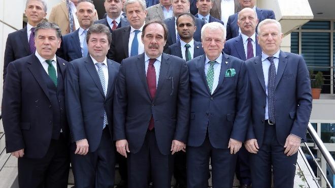 TFF Yönetim Kurulu, Bursaspor tesislerinde toplandı