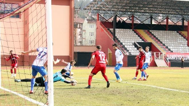 Kastamonuspor, Tuzlaspor'u tek golle geçti