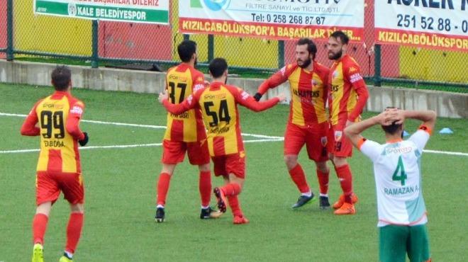 Kızılcabölükspor, Tepecikspor'u mağlup etti