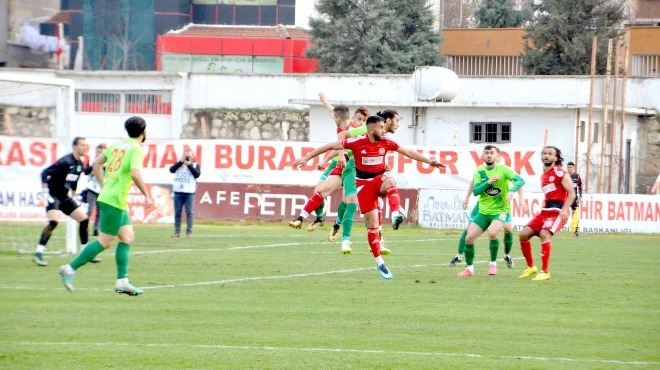 Batman Petrolspor, Erzinspor'a kaybetti