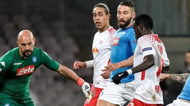 Leipzig Napoli'yi şok etti! Bruma...