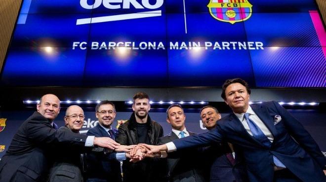 Barcelona Başkanı Bartomeu: 'Toplam sponsorluk gelirimiz...'