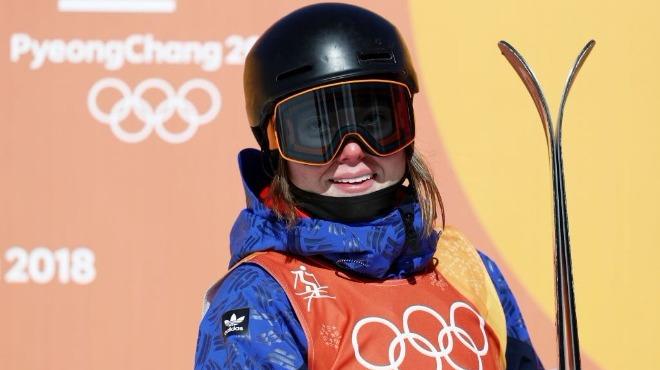 Kadınlar serbest stil slopestyle kayakta zafer İsviçreli sporcunun