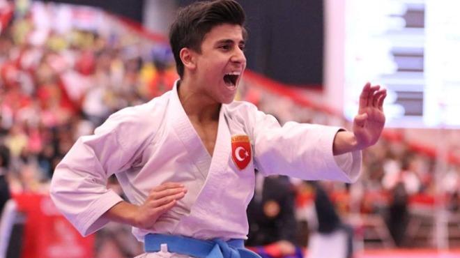 Genç karatecinin hayali olimpiyat şampiyonluğu