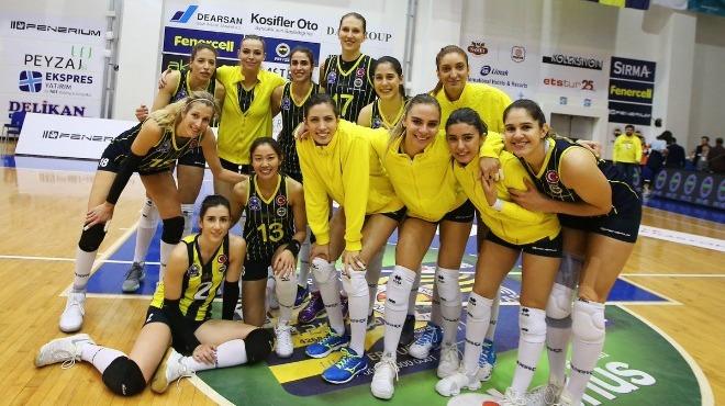 Fenerbahçe dört sette güldü!