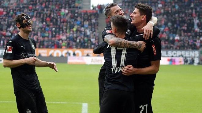 Mario Gomez, Stuttgart'a hayat verdi!