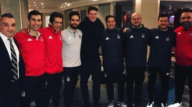 Mario Gomez'den Beşiktaş'a sürpriz ziyaret!