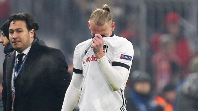 Beşiktaş'ta Vida sıkıntısı