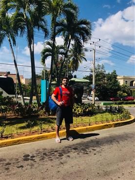 Şampiyon güreşçi Taha Akgül, Küba'da