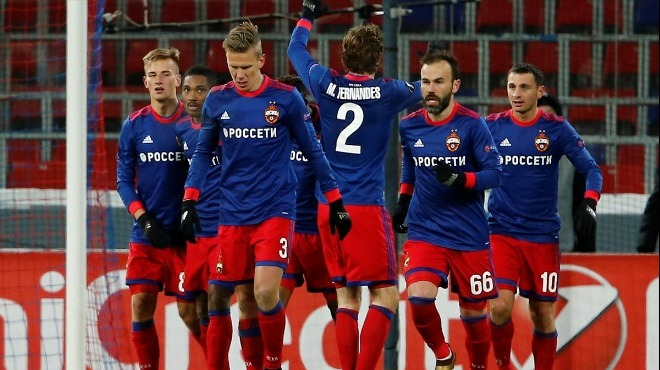 CSKA Moskova tek attı, son 16'ya kaldı