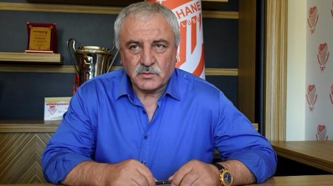 Gümüşhanespor'da Kulüp Başkanı görevinden istifa etti!