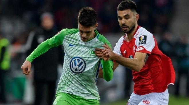 Yunus Mallı'nın takımı Wolfsburg deplasmandan 1 puanla dönüyor