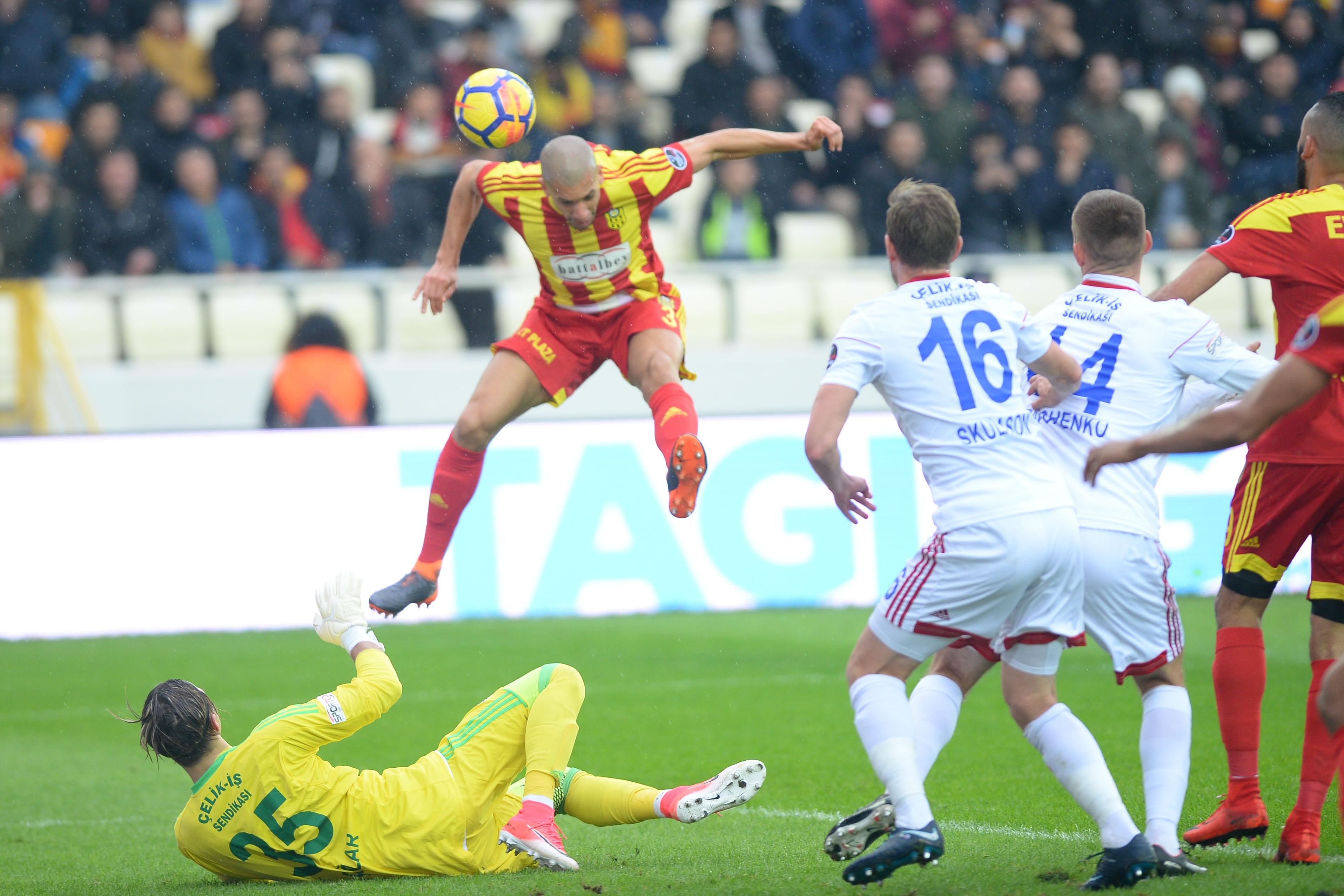 Malatyaspor'da galibiyet sevinci
