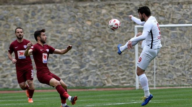 Gümüşhanespor - Bandırmaspor maçında gol sesi çıkmadı