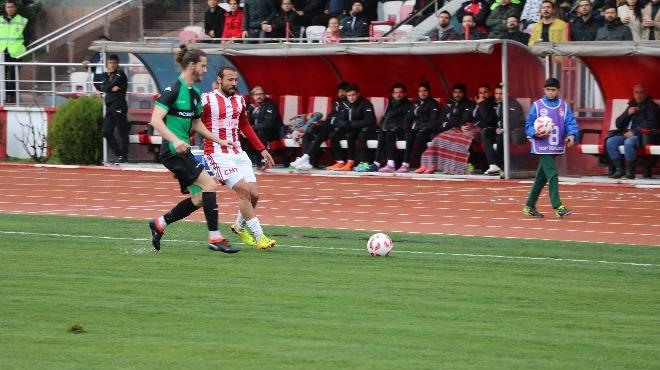 Kahramanmaraşspor, sahasında Sakaryaspor'u mağlup etti