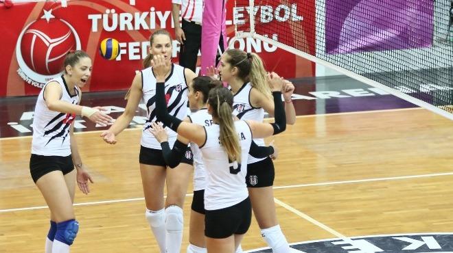 Beşiktaş, Nilüfer Belediyespor'a set vermedi