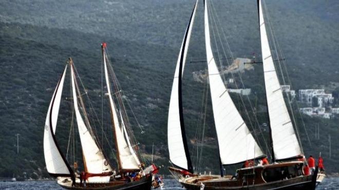 Yelken yarışlarına rüzgar engeli!