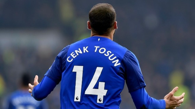 Cenk Tosun'un golü Everton'a yetmedi