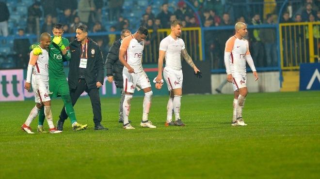 Galatasaray kafilesi İstanbul'a gitti