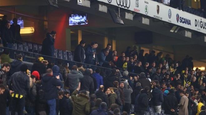 Mahmut Uslu Fenerbahçeli taraftarlar ile tartıştı