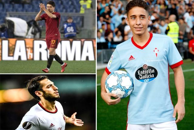 Avrupa'da forma giyen Türk futbolcular