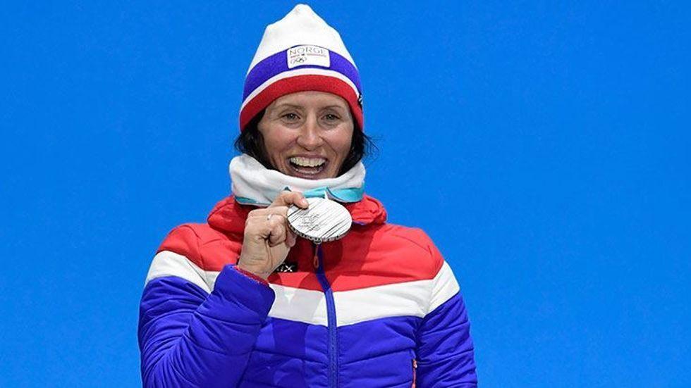 Kış Olimpiyatları'nın rekortmeni Bjoergen