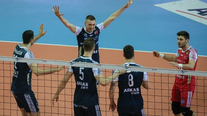 Arkas Spor'da hedef yarı final