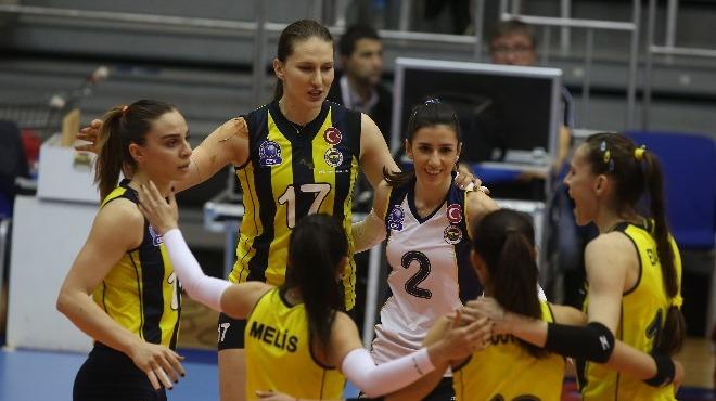 Fenerbahçe 5 sette kazandı, yarı finale çıktı