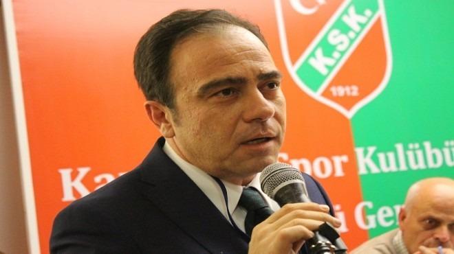 Karşıyaka yönetimi, eski başkan Altuğ'dan hesap soracak