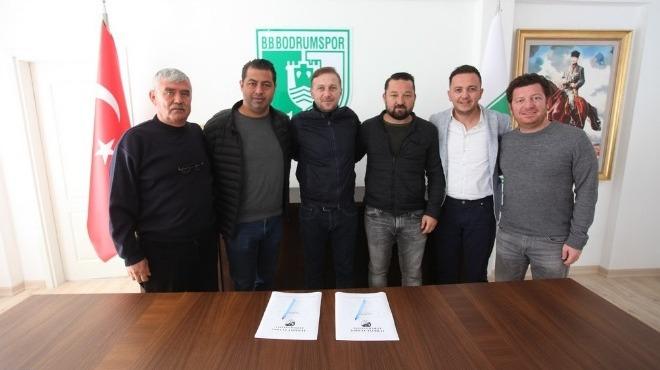 Bodrumspor'da yeni dönem