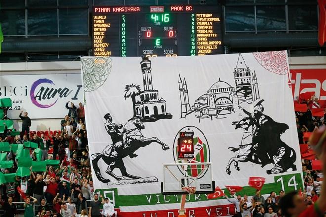 Pınar Karşıyaka, FIBA Şampiyonlar Ligi'nde çeyrek finale yükseldi!