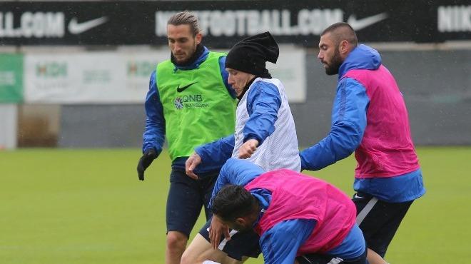 Trabzonspor'da Evkur Yeni Malatyaspor maçı hazırlıkları sürüyor