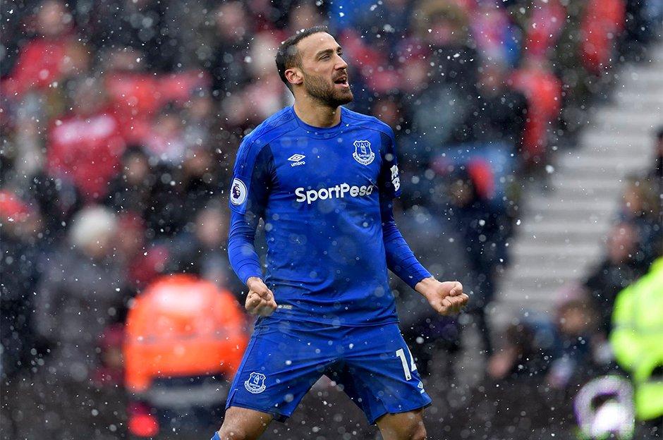 Video - İşte Cenk Tosun'un Everton'da attığı tüm goller